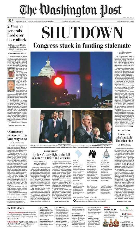 The Washington Post, Washington D.C. Photo: Newseum.org