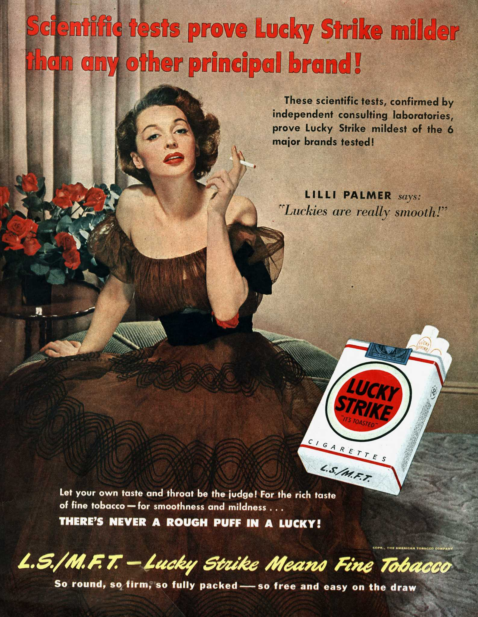 Old Cigarette Ads Show How Tobacco Companies Fought The