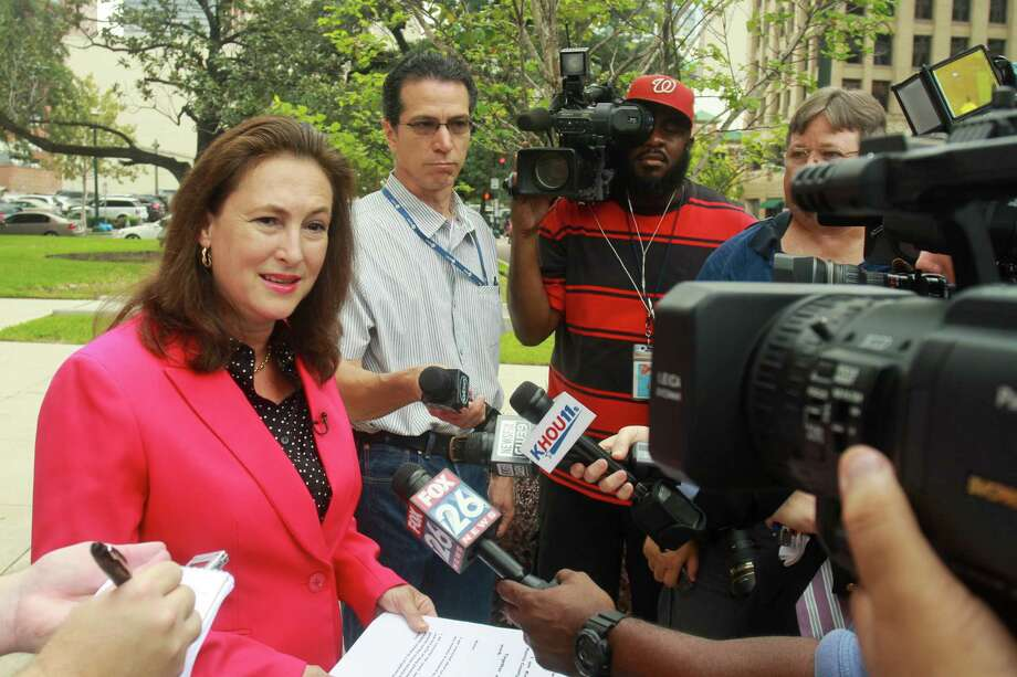 Kim Ogg, the first Democratic candidate for Harris County district attorney, said she favors ticketing low-level drug users. Photo: Gary Fountain, Freelance / Copyright 2013 Gary Fountain.