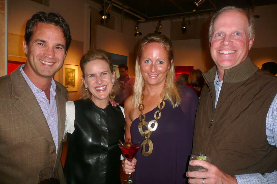 "Over 250 supporters of the Greenwich Arts Council attended the group's first fundraiser ""Arts Alive"" held at the Art Center on September 28, 2013 to celebrate the varied art forms it supports. Photo: Picasa, Anne W. Semmes"
