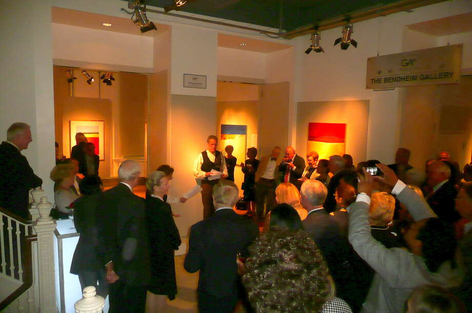 """Over 250 supporters of the Greenwich Arts Council attended the group's first fundraiser """"Arts Alive"""" held at the Art Center on September 28, 2013 to celebrate the varied art forms it supports. Photo: Picasa, Anne W. Semmes"""