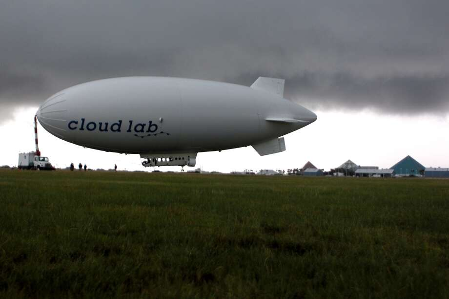 Cloud Lab is docked in Galveston, Oct. 1, 2013. (Johnny Hanson / Houston Chronicle)