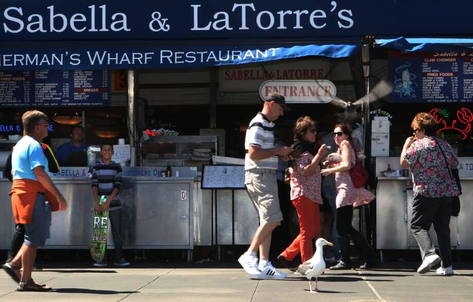 Sabella and La Torre opened in 1927 and was one of the first Fisherman's Wharf restaurants in San Francisco,. Photo: Liz Hafalia, The Chronicle