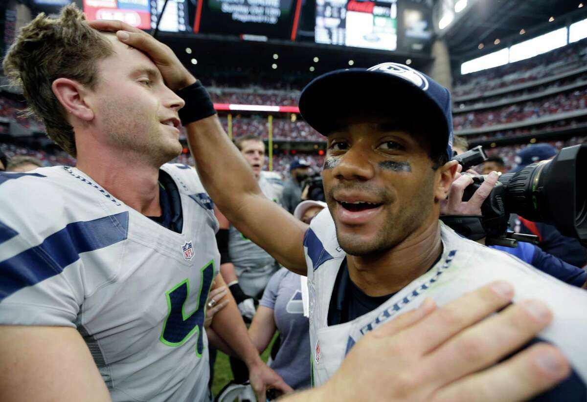 15 greatest comebacks in sports history15. The Seahawks' wild 23-20 overtime victory in Houston on Sunday was hands-down one of the best comebacks in Seattle sports history. Down 20-6 with eight minutes left in regulation, quarterback Russell Wilson took the team on his back and led a 98-yard touchdown drive to narrow the Texans' lead to seven. Then, with Houston looking to finish off the game, cornerback Richard Sherman intercepted a Matt Schaub pass and took it to the end zone to tie it at 20. In overtime, Steven Hauschka (pictured at left) hit the 45-yard game-winning field goal to steal the victory and give his Seahawks their first 4-0 start in franchise history.The sensational turnaround got us thinking about other great comebacks in sports history. Here are 14 more of the greatest, including several involving Seattle teams.
