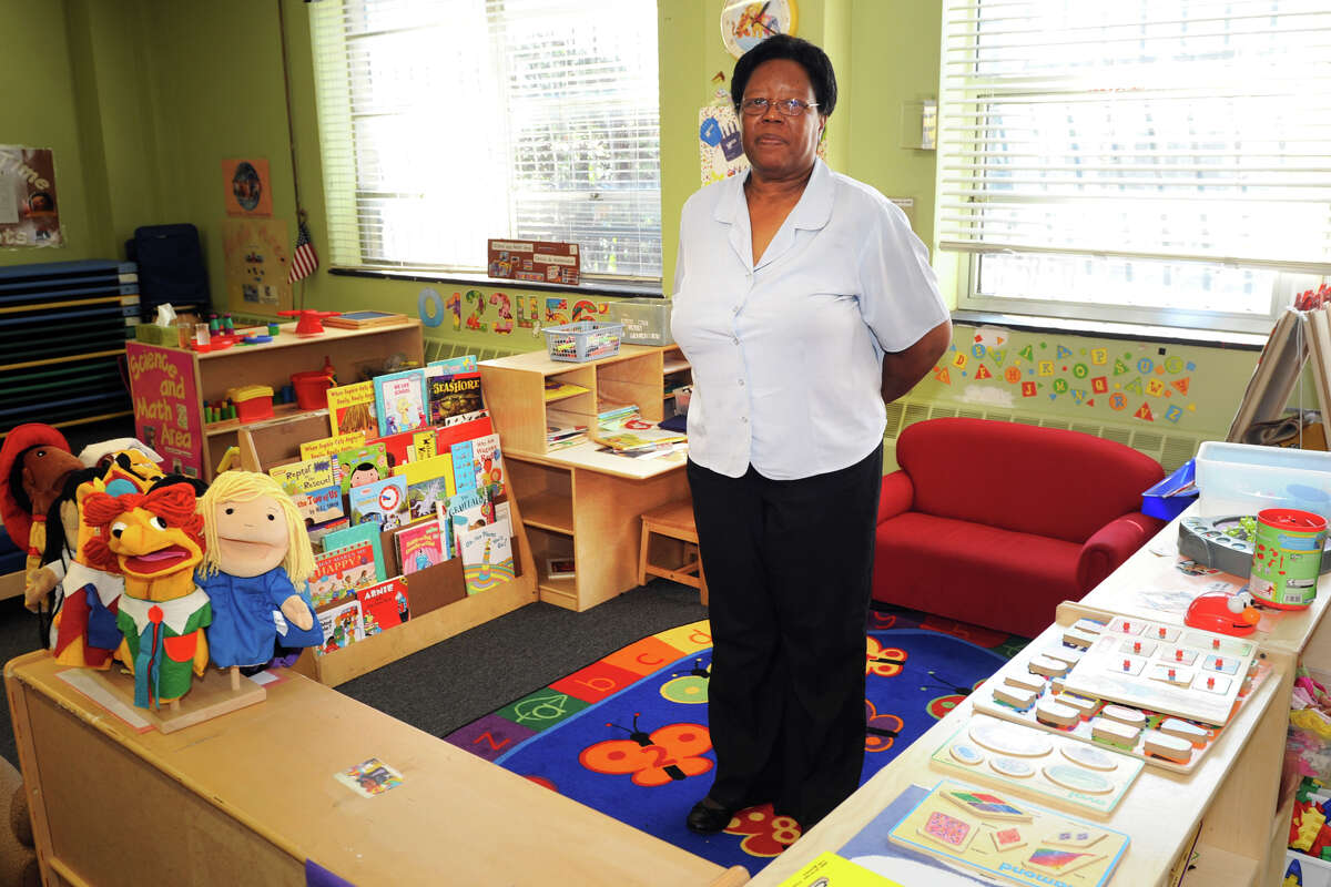 Margie Powell, Senior Coordinator for the Head Start programs stands in an empty classroom at ABCD Inc., in Bridgeport, Conn. Oct. 1, 2013. The agencyâÄôs federally funded Head Start programs were closed Tuesday due to the Congressional impasse and government shutdown.