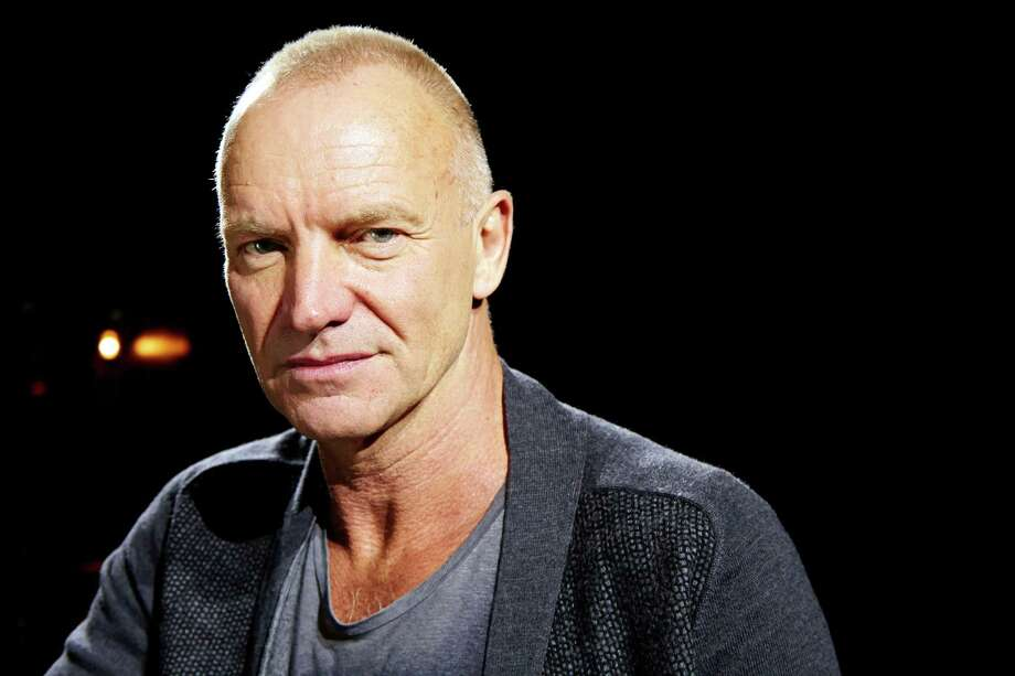 "In this Sept. 26, 2013, photo, Sting poses for a portrait at The Public Theater in promotion of his new album, ""The Last Ship,"" in New York. (Photo by Dan Hallman/Invision/AP) ORG XMIT: NYDH103 Photo: Dan Hallman / Invision"