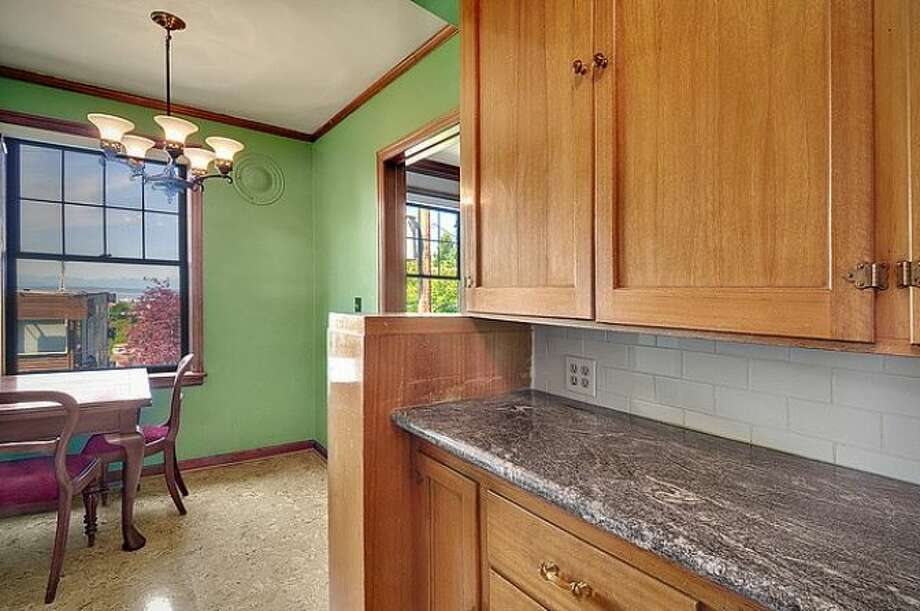 Kitchen of 400 Boylston Ave. E., No. 310. It's listed for $237,500. Photo: Courtesy Casey Price, Windermere Real Estate
