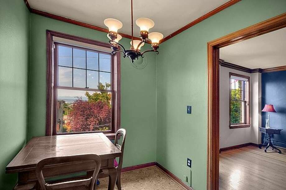 Eating area of 400 Boylston Ave. E., No. 310. It's listed for $237,500. Photo: Courtesy Casey Price, Windermere Real Estate