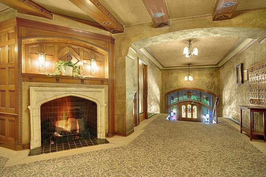 Lobby of 400 Boylston Ave. E. Unit No. 310 is listed for $237,500. Photo: Courtesy Casey Price, Windermere Real Estate