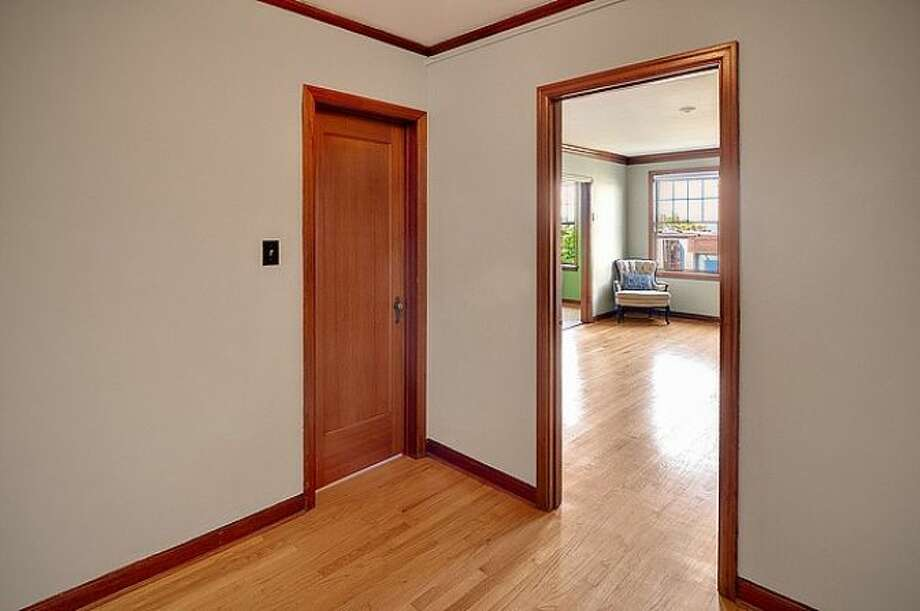 Hallway, with closet, of 400 Boylston Ave. E., No. 310. It's listed for $237,500. Photo: Courtesy Casey Price, Windermere Real Estate