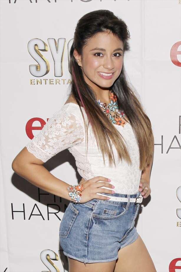 Ally Brooke poses for photos at the Hollywood and Highland Center in L.A. (Getty Images) Photo: Joe Kohen, WireImage