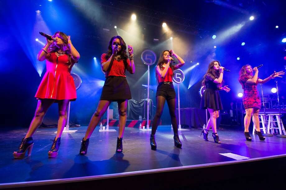 Fifth Harmony performs at the Best Buy Theater in  New York. (Getty Images) Photo: Dave Kotinsky, Getty Images