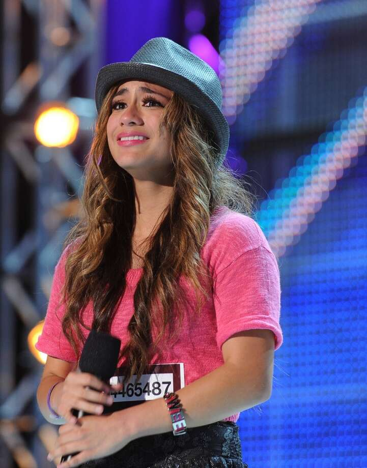 "Ally Brooke appears on ""The X Factor"" before becoming part of the girl group Fifth Harmony. (Fox) Photo: Fox"