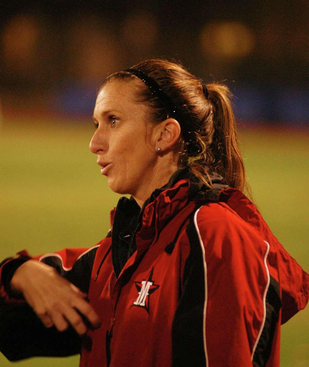 St. John School soccer Coach Rachel Fabre.