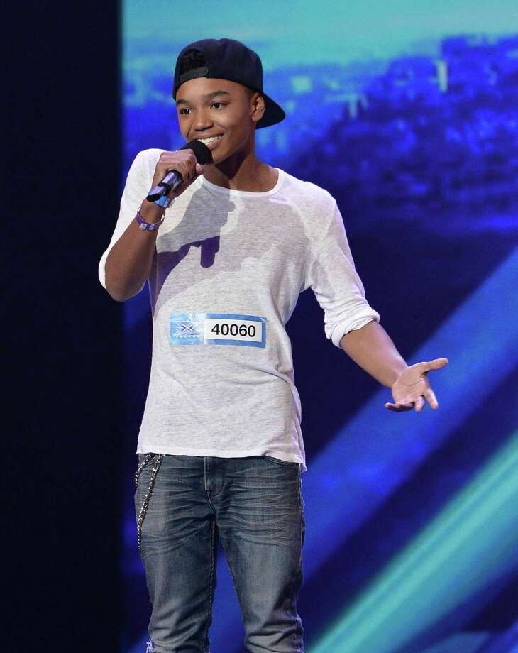 "Houston native Josh Levi wowed the judges on ""The X Factor."" Simon Cowell called him ""a future little star."" Photo: Ray Mickshaw / FOX"