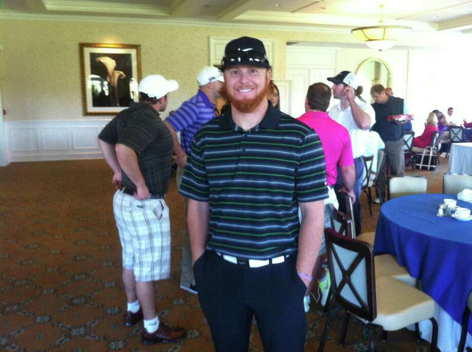 Justin Turner of the Mets attended the annual Tim Teufel charity golf event at Tamarack Country Club in Greenwich on Tuesday, October 1, 2013. Photo: David Fierro