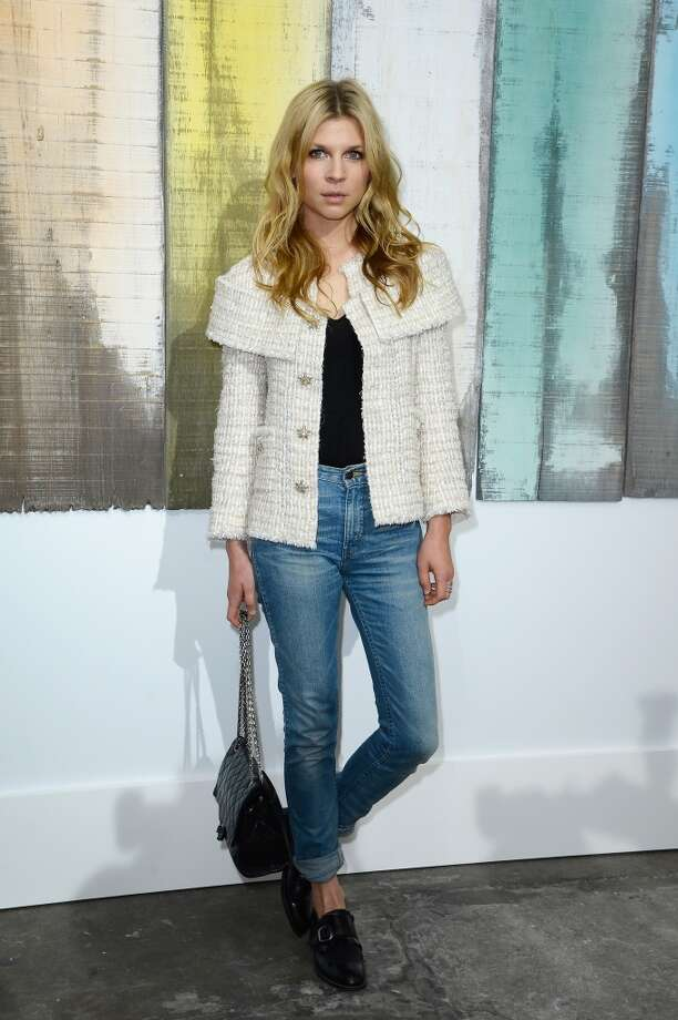 Clemence Poesy attends the Chanel show as part of the Paris Fashion Week Womenswear  Spring/Summer 2014 at Grand Palais on October 1, 2013 in Paris, France.  (Photo by Pascal Le Segretain/Getty Images) Photo: Pascal Le Segretain, Getty Images