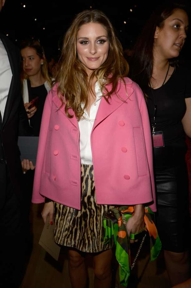 Olivia Palermo attends the Valentino show as part of the Paris Fashion Week Womenswear  Spring/Summer 2014 at Espace Ephemere Tuileries on October 1, 2013 in Paris, France.  (Photo by Pascal Le Segretain/Getty Images) Photo: Pascal Le Segretain, Getty Images