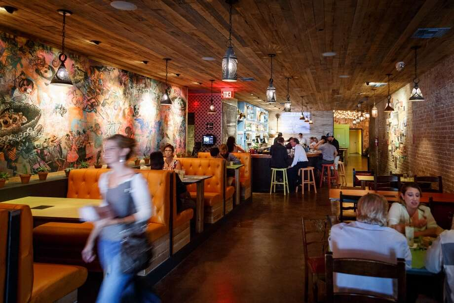 The Pastry War, a new tequila bar downtown which serves agave-based spirits: tequila, mezcal and sotol. ( Michael Paulsen / Houston Chronicle ) Photo: Michael Paulsen, Houston Chronicle