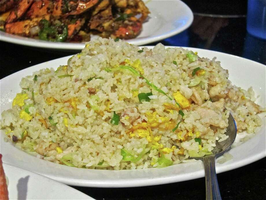 Fried rice with salted fish and chicken at Hai Cang seafood restaurant. Photo: Alison Cook