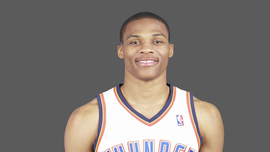 Russell Westbrook Oklahoma City Thunder  2010-11 NBA photo