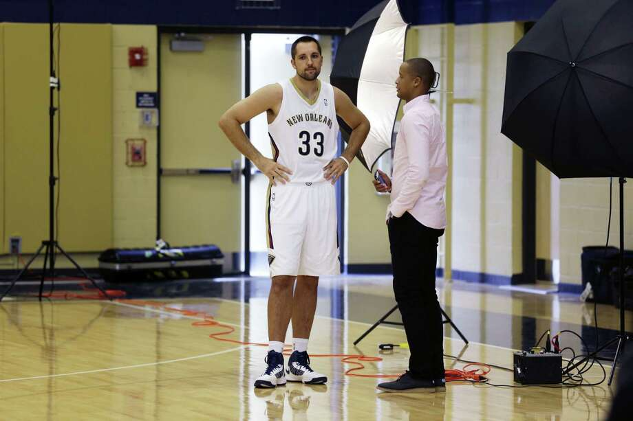 Ryan Anderson was second in the NBA last season in 3-pointers (213). Only Golden State's Stephen Curry (272) had more. Photo: Gerald Herbert / Associated Press