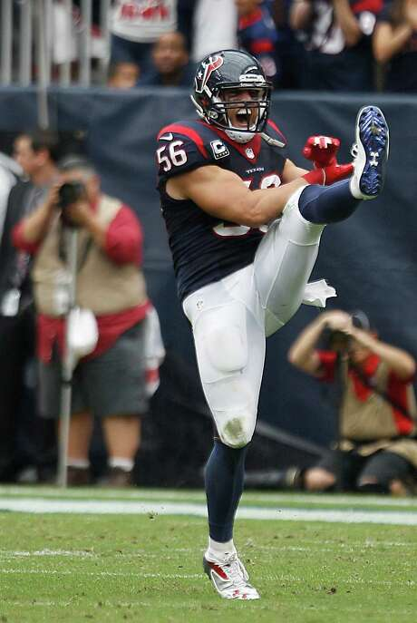 Brian Cushing has been the leader of the NFL's top-ranked defense. Photo: Brett Coomer, Staff / © 2013  Houston Chronicle