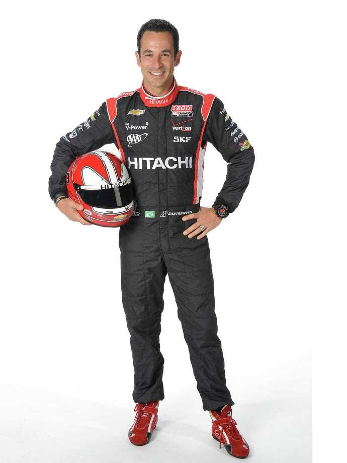 INDYCAR Helio Castroneves - Brazil 3 Team Penske - Chevrolet - Hitachi / John Cote 2O12