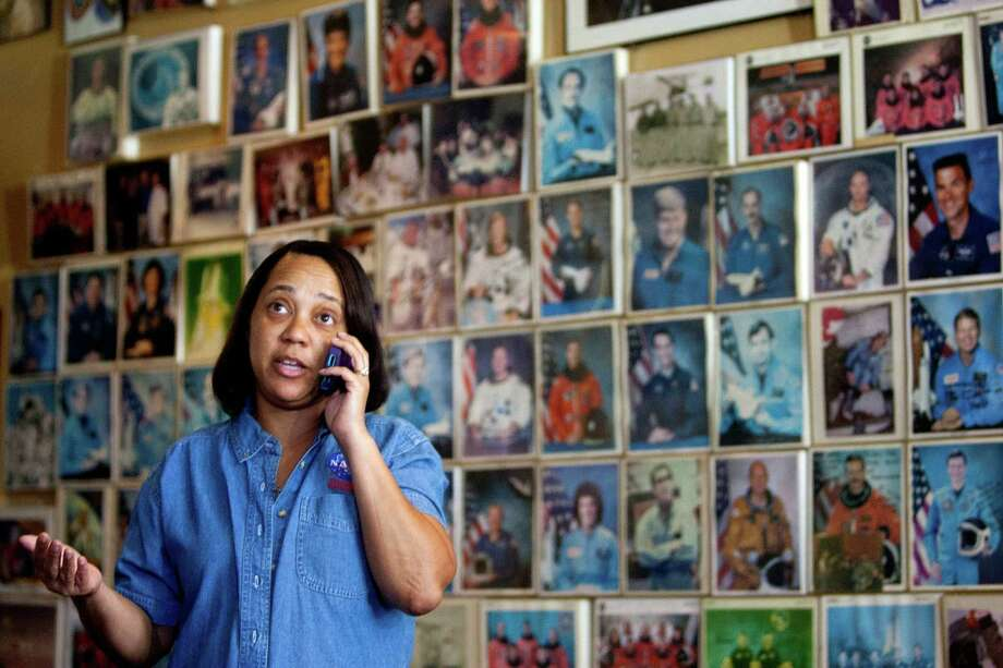 Furloughed Johnson Space Center worker and union leader Bridget Broussard-Guidry says many are already cutting back expenses. Photo: Johnny Hanson, Staff / Houston Chronicle