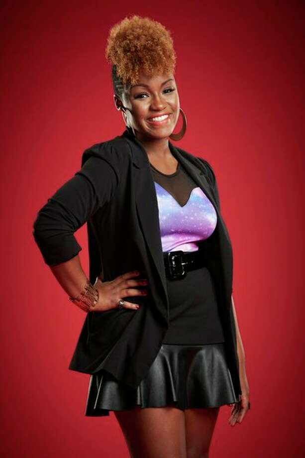 THE VOICE -- Season: 5 -- Pictured: Amber Scott as Amber Nicole -- (Photo by: Paul Drinkwater/NBC) Photo: NBC, Paul Drinkwater/NBC / 2013 NBCUniversal Media, LLC