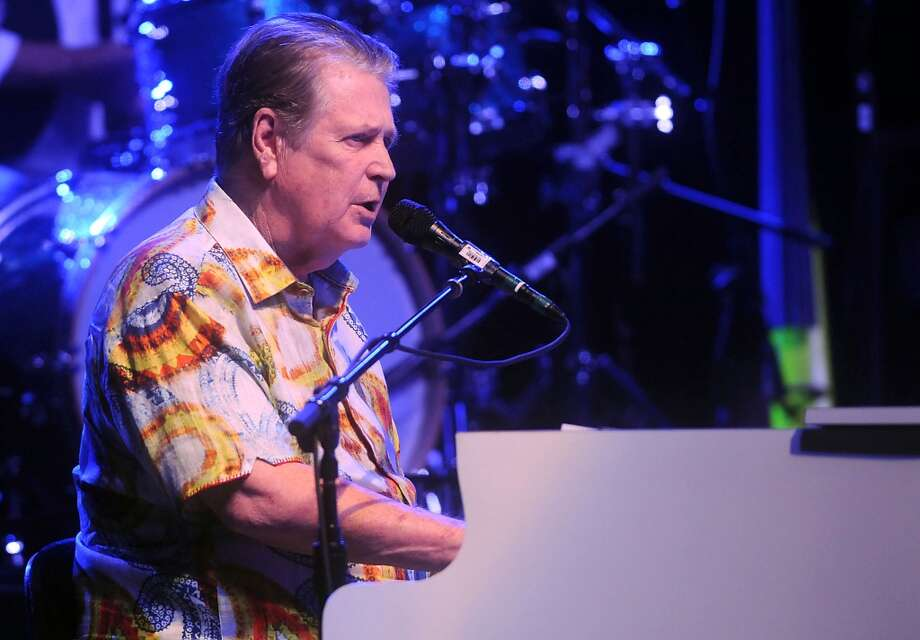 Beach Boy Brian Wilson performs at the Bayou City Music Center. He shared the bill with Jeff Beck. Photo: Dave Rossman, For The Houston Chronicle