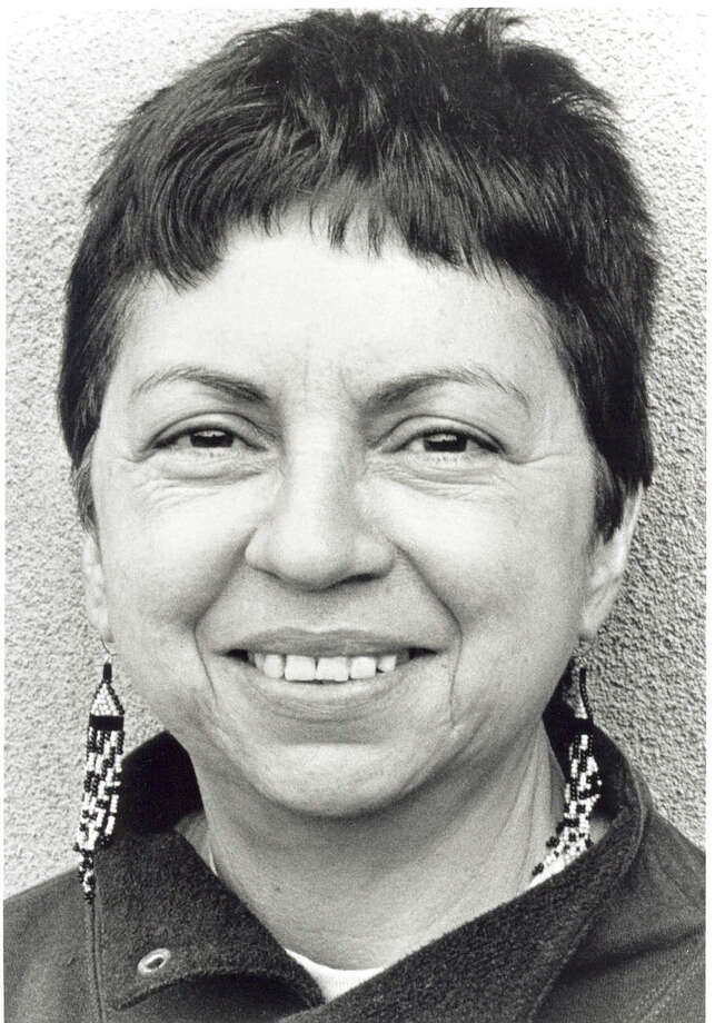 "Gloria Anzaldúa was one of most celebrated Latina thinkers ever to come out of South Texas and was nationally recognized for her contributions to Chicana cultural theory, feminist theory and queer theory and is credited for introducing the term ""mestizaje"" to scholarship. She co-edited the landmark, ""This Bridge Called My Back: Writings by Radical Women of Color"" with Cherríe Moraga and is best remembered for her book, ""Borderlands/La Frontera: The New Mestiza."" An online biography notes that Anzaldúa used ""a unique blend of eight languages, two variations of English and six of Spanish. In many ways, by writing in 'Spanglish,' Anzaldúa creates a daunting task for the non-bilingual reader to decipher the full meaning of the text. However, there is irony in the mainstream reader's feeling of frustration and irritation. These are the very emotions Anzaldúa has dealt with throughout her life, as she has struggled to communicate in a country where non-English speakers are shunned and punished."" She died in 2004.– Elaine Ayala Photo: AP / AUNT LUKE BOOKS"
