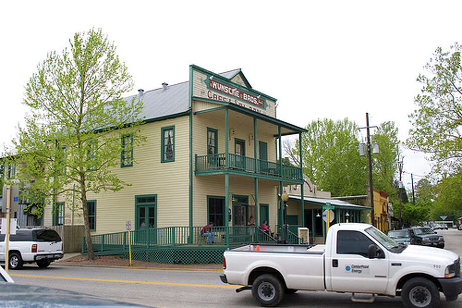 Wunsche Brothers Cafe and Saloon, SpringVisitors claim that Charlie Wunsche, the original owner, haunts his old saloon. Visitors have reported numerous ghostly activities,  including holding doors close and wacky electronics. Photo: Nail, Flickr