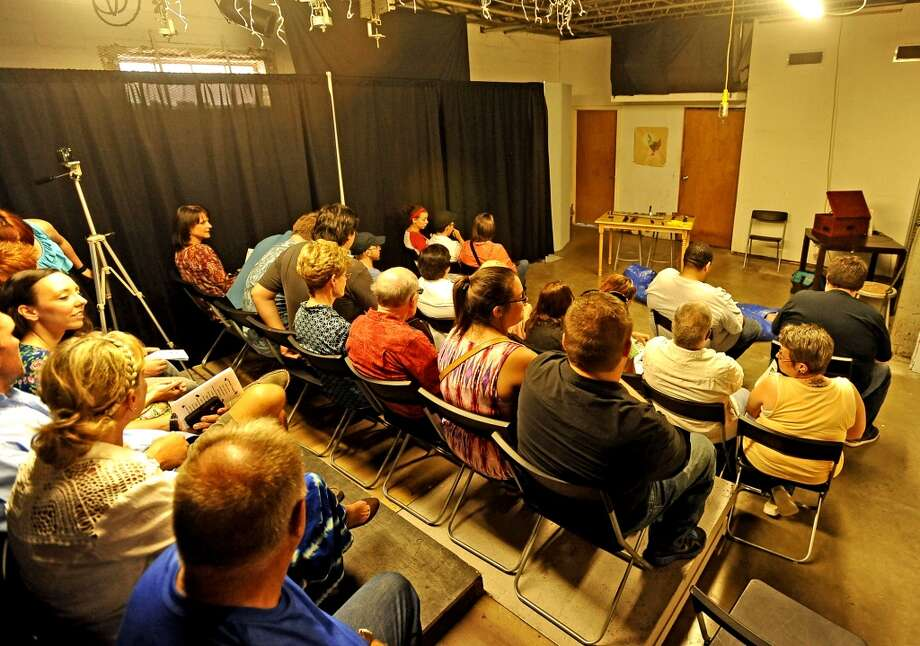 Stage Left took over the Art Studio Inc. presenting four short one act plays on Thursday, August 8, 2013. Photo taken: Randy Edwards/The Enterprise Photo: Beaumont Enterprise