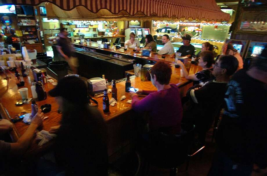 The Boudain Hut offers live music, a dance floor, an array of Cajun food and beer. Photo taken Sunday, December 4, 2011 Guiseppe Barranco/The Enterprise Photo: Guiseppe Barranco/The Enterprise