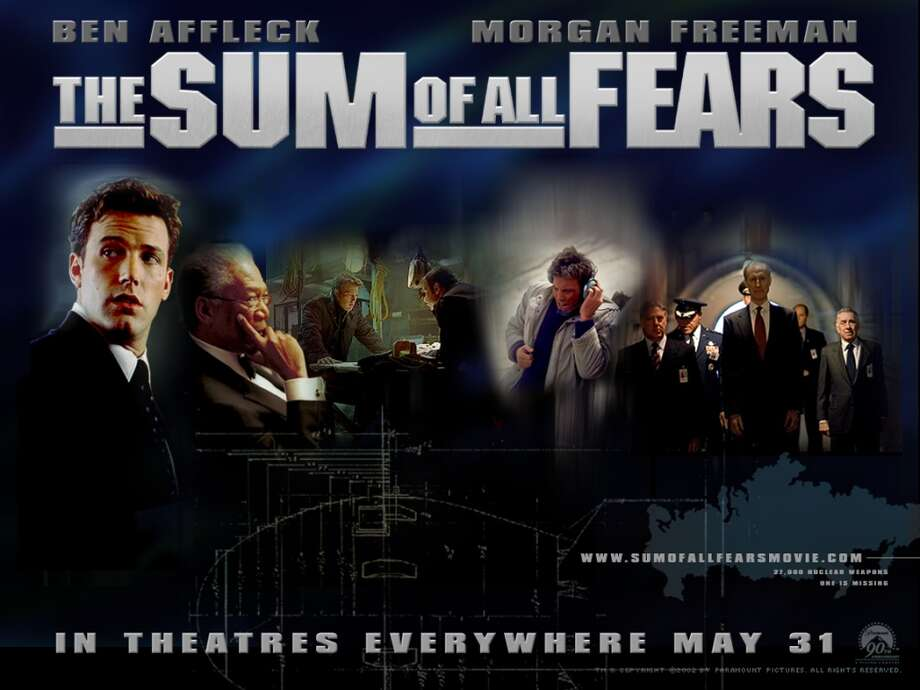 Released in 2002, The Sum of All Fears featured Ben Affleck as Jack Ryan and grossed $193 million.