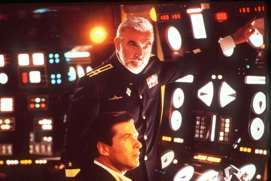 'The Hunt for Red October' (1990) - Alec Baldwin, with Sean Connery