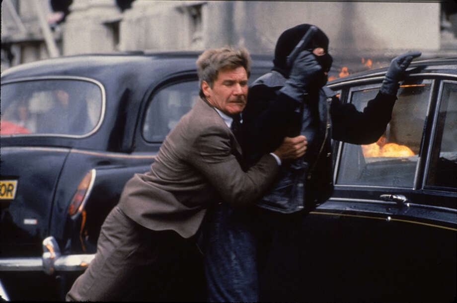 'Patriot Games'- CIA desk jockey Jack Ryan plunges into the heart of international terrorism after spoiling an assassination attempt on a British royal family member. Ryan's heroics earn him noble gratitude -- and a death warrant from the Irish Republican Army. Available: Feb. 1