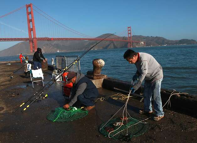 Tourists turned away from iconic bay area spots sfgate for Bay area fishing spots