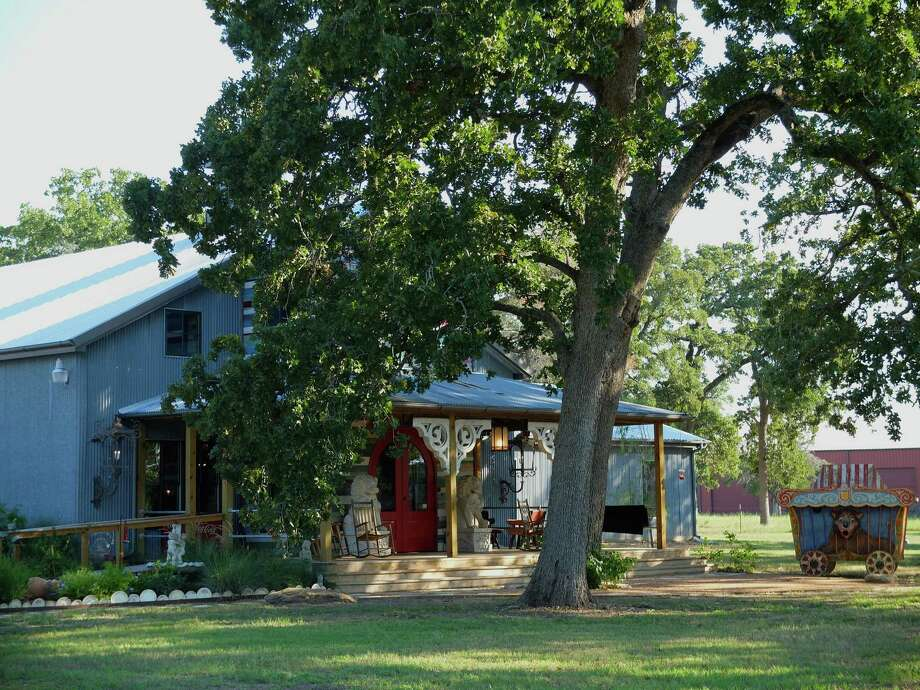 Junk Gypsy World Headquarters just outside Round Top is finally open. Photo: Molly Glentzer