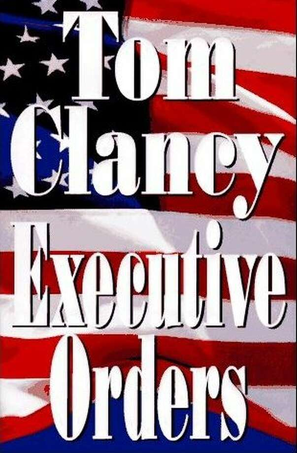 Executive Orders (1996) This is the immediate sequel to Debt of Honor. President Ryan survives press hazing, an assassination attempt, and a biological warfare attack on the United States. Clark and Chavez trace the virus to a Middle Eastern madman, and the U.S. military goes to work.
