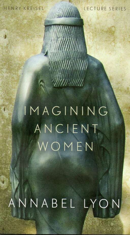 "Author Annabel Lyon relates in her published lecture: ìImagining Ancient Women,"" how she was able to realize the voice of Aristotle's daughter Pythias in her nove,l ìThe Sweet Girl,î and the voice of Aristotle in her novel, ""The Golden Mean."" Photo: Anne W. Semmes"
