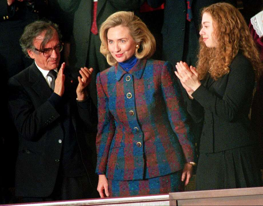 In fashionFirst Lady Hilary Clinton managed to become one of the decade's fashion don'ts. Photo: CHARLES TASNADI, AP