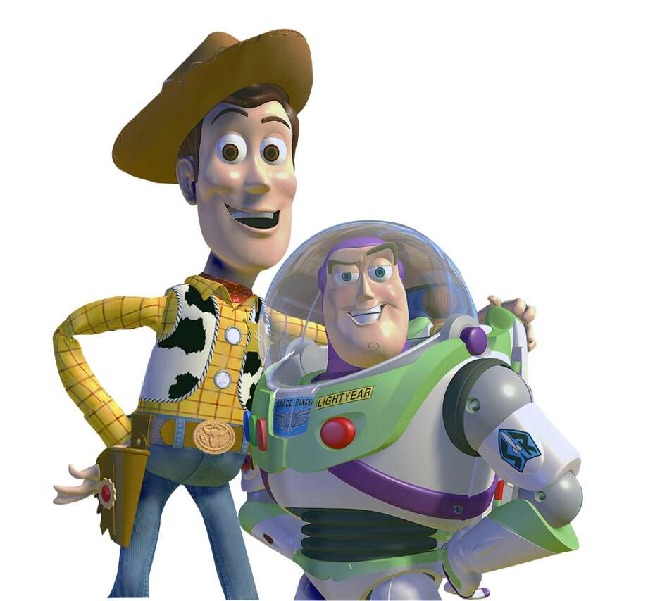 At the movies'Toy Story' Photo: Anonymous, AP