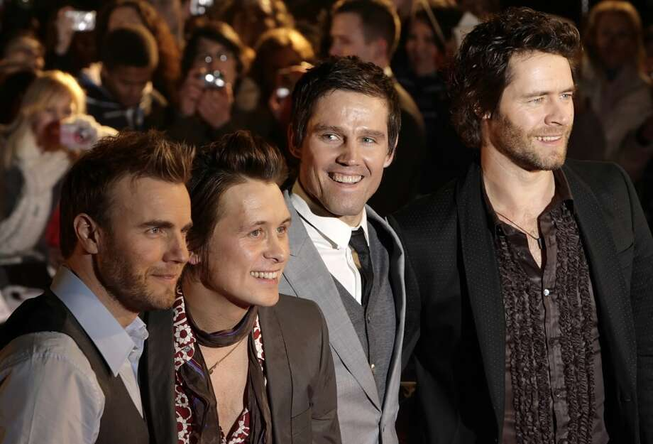 On the radio'Back for Good' by Take That Photo: LEON NEAL, AFP/Getty Images