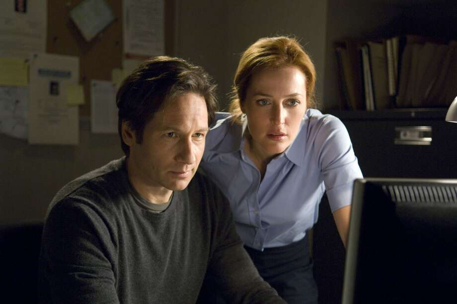 On television'The X Files' Photo: Handout, MCT