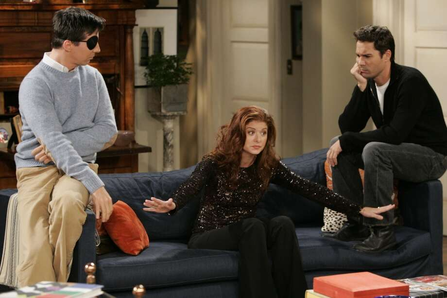 On television'Will and Grace' Photo: CHRIS HASTON, AP