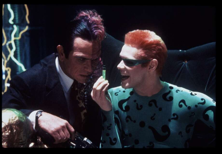 At the movies'Batman Forever' Photo: Ralph Nelson, Warner Bros.