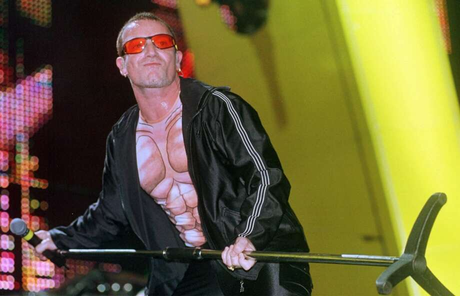 On the radio'Hold Me, Thrill Me, Kiss Me, Kill Me' by U2 Photo: DARIO LOPEZ-MILLS, AP