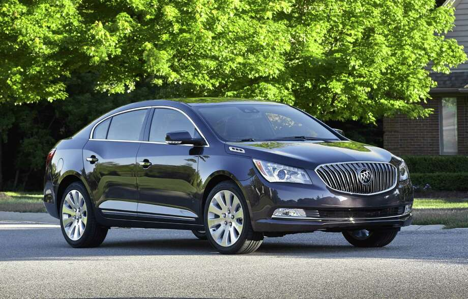 This undated image made available by General Motors shows the 2014 Buick LaCrosse. Photo: GM